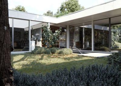 Hooper House - Marcel Breuer 1957 (7)