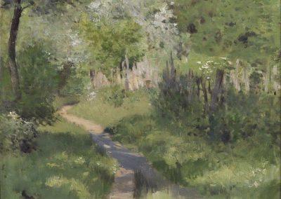 Le sentier dans les bois - Isaak Levitan (1899)