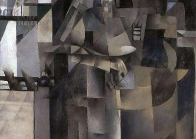 Living in a big hotel - Kazimir Malevich (1914 )