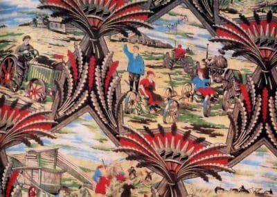 Motifs textiles de Russie post-Révolutionnaire 1920 (15)