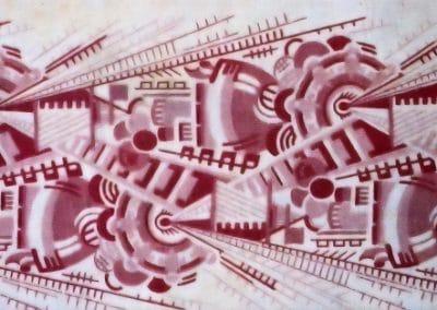 Motifs textiles de Russie post-Révolutionnaire 1920 (25)