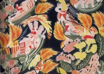 Motifs textiles de Russie post-Révolutionnaire 1920 (31)