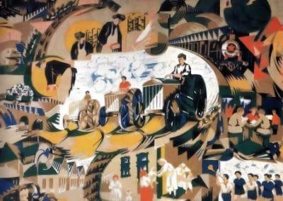 Motifs textiles de Russie post-Révolutionnaire 1920 (32)