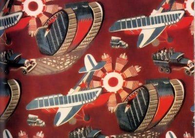 Motifs textiles de Russie post-Révolutionnaire 1920 (34)