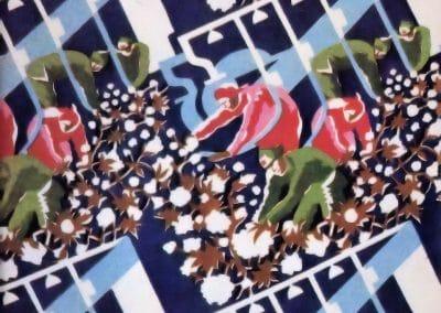Motifs textiles de Russie post-Révolutionnaire 1920 (36)