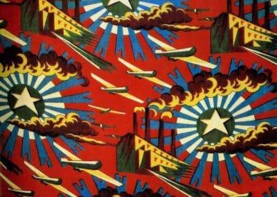 Motifs textiles de Russie post-Révolutionnaire 1920 (9)