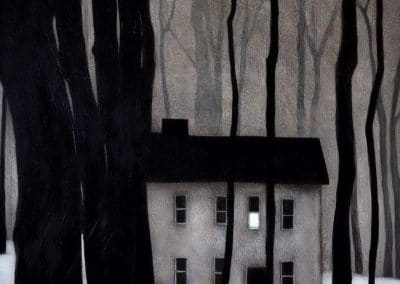Night forest scene - John Caple (1995)
