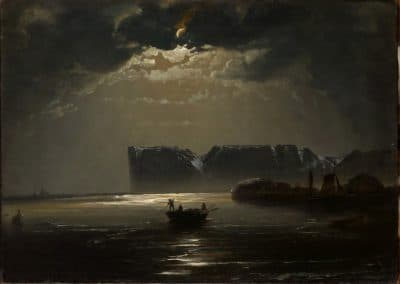 The North Cape by moonlight - Peder Balke (1848)