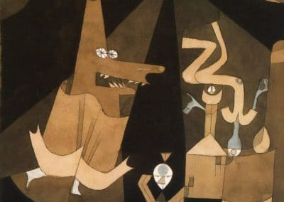 Witch scene - Paul Klee (1921)