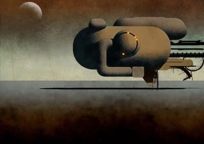 Science-fiction - Dan McPharlin 1990 (5)