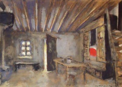 Intérieur, modèle pour la Lépreuve - Edouard Vuillard (1919)