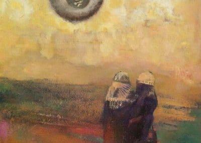 Le soleil noir - Odilon Redon (1900)