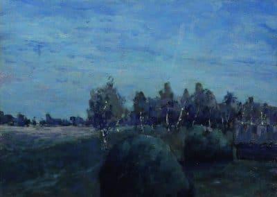 Moonlit landscape - Isaac Levitan (1895)