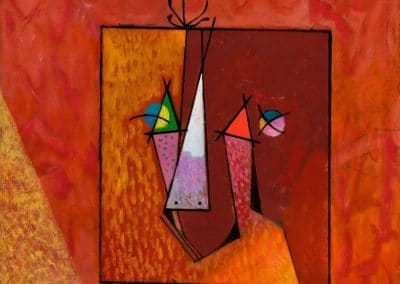 Portrait de Joan Miró - Max Ernst (1948)