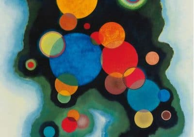 Vertiefte impulse - Wassily Kandinsky (1928)
