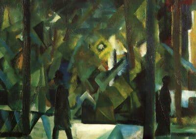 Abend - August Macke (1912)