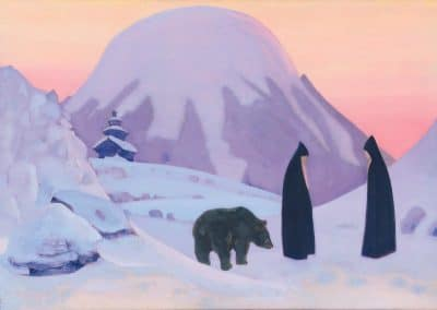 And we are not afraid - Nicholas Roerich (1922)