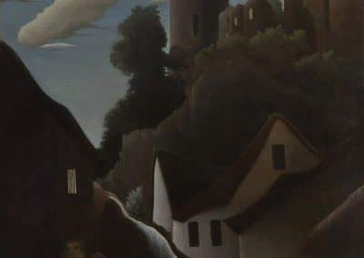 Chateau au clair de lune - Henri Rousseau (1889)