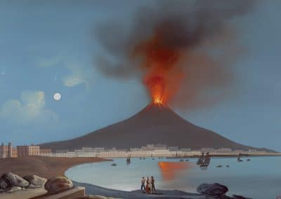 Etna in Sicilia - vue du volcan en éruption