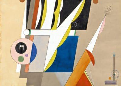 Great Fugue - Rudolf Bauer (1929)