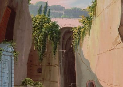 Grotta di Pozzuoli - vue de l'entrée de la grotte
