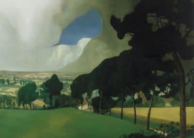 Jour nuageux d'été - Valerius de Saedeleer (1921)