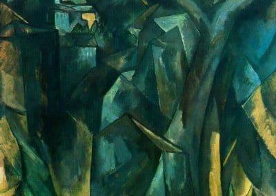 La ville sur la colline - Georges Braque (1909)