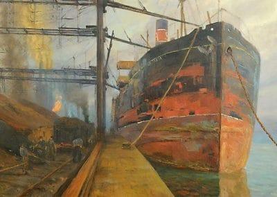 Le port - Ugo Flumiani (1929)