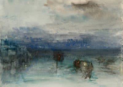 Moonlight on the lagoon - William Turner (1840)