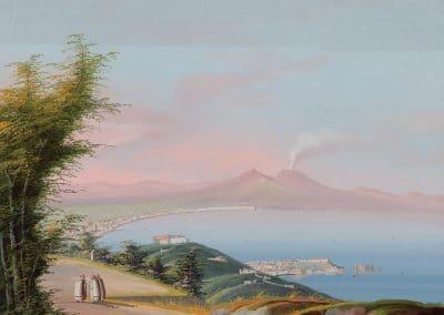 Napoli dai Camaldoli - vue générale de Naples depuis Camaldoli