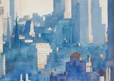 New York skyline - John Held Jr (1934)