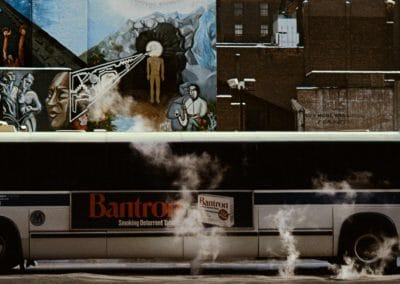 New York up & down - Frank Horvat 1980 (26)
