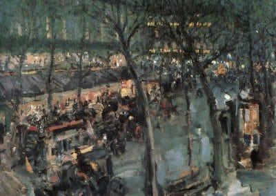Paris, café de la paix - Konstantin Korovin (1906)