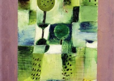 Park in the rain - Paul Klee (1920)
