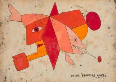 Portraits - Victor Brauner (1954)