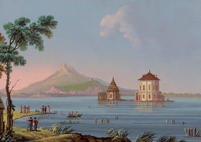 R. Casino del Fusaro - vue générale du lac