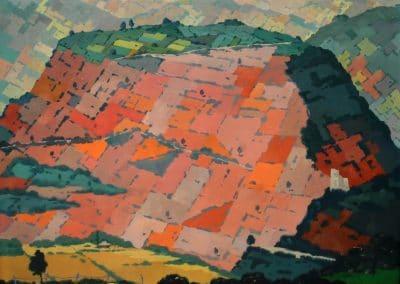 Red mountain - David Kakabadze (1944)