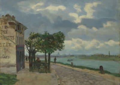 Rives de la Seine - Armand Guillaumin (1873)