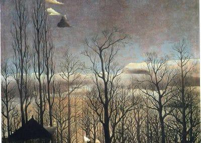 Soir de carnaval - Henri Rousseau (1886)
