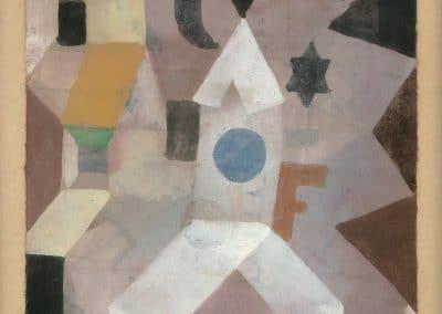 The chapel - Paul Klee (1917)