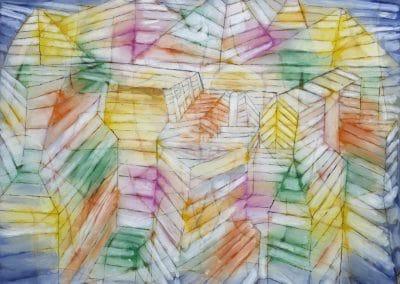 Theater-Mountain-Construction - Paul Klee (1920)