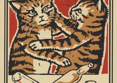 Boîtes d'allumettes chats en soirée - Arna Miller 2018 (1)