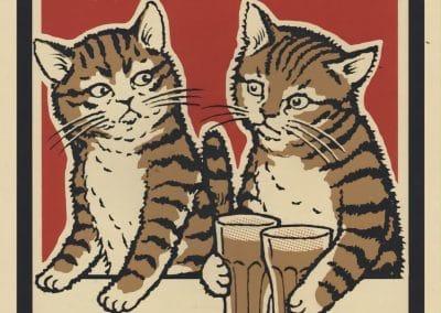 Boîtes d'allumettes chats en soirée - Arna Miller 2018 (10)