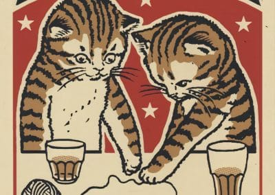 Boîtes d'allumettes chats en soirée - Arna Miller 2018 (11)