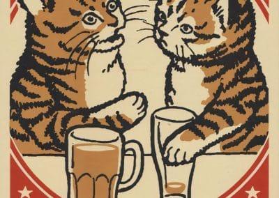 Boîtes d'allumettes chats en soirée - Arna Miller 2018 (12)