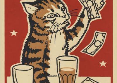 Boîtes d'allumettes chats en soirée - Arna Miller 2018 (16)