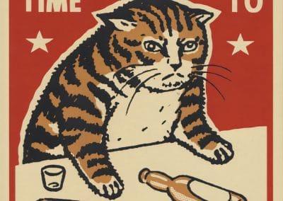 Boîtes d'allumettes chats en soirée - Arna Miller 2018 (17)
