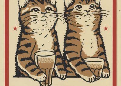 Boîtes d'allumettes chats en soirée - Arna Miller 2018 (19)