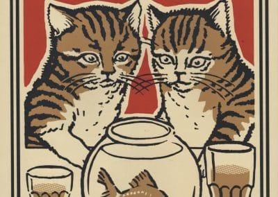 Boîtes d'allumettes chats en soirée - Arna Miller 2018 (2)