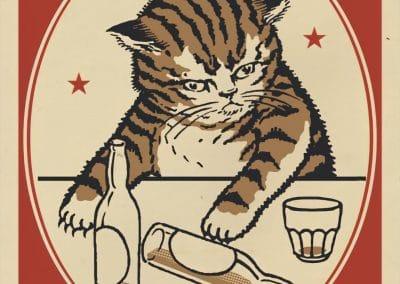 Boîtes d'allumettes chats en soirée - Arna Miller 2018 (3)